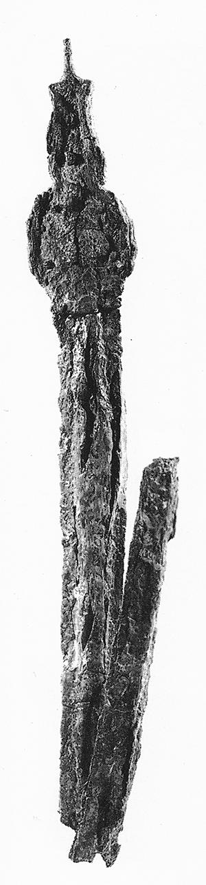 Vonhoff Fig. 3 Iron sword Palaepaphos-Skales T.76